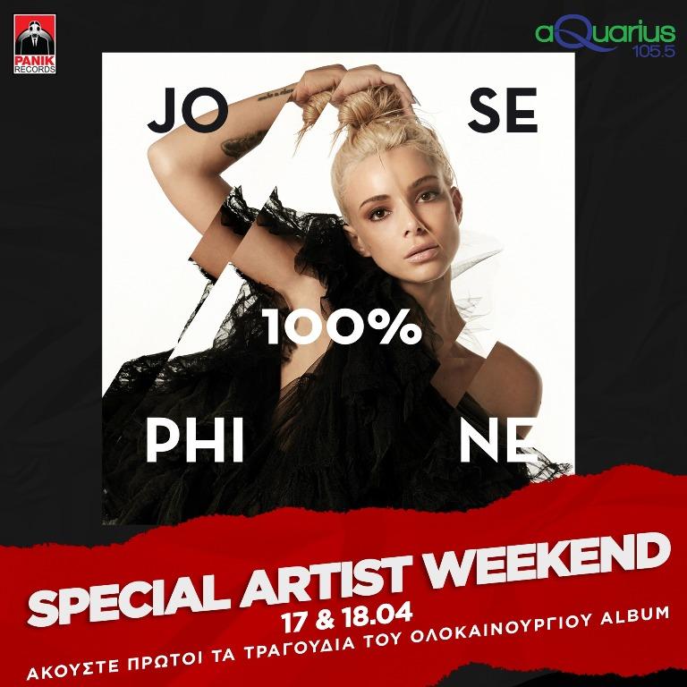 Special artist weekend με την Josephine!